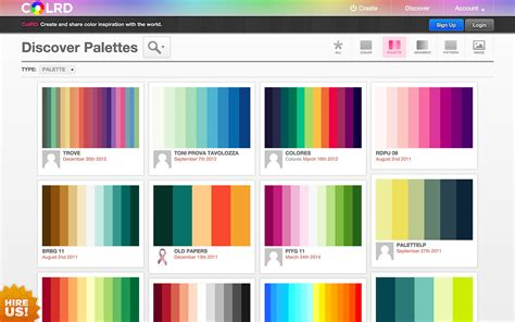 Colour Palette Maker | best color palette generators html color codes