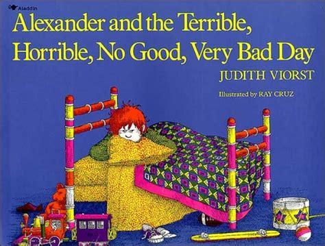 Alexander And The Terrible Horrible No Good Very Bad Day Cast | reading for sanity a book review blog alexander and the