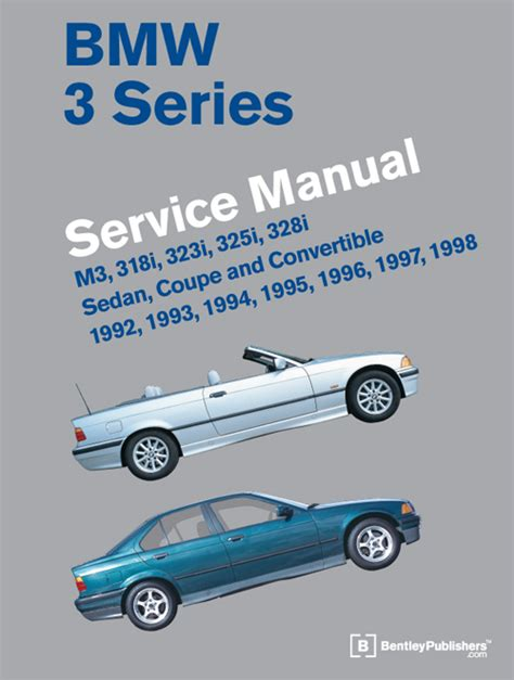 front cover bmw repair manual bmw 3 series e36 1992 1998 bentley publishers repair