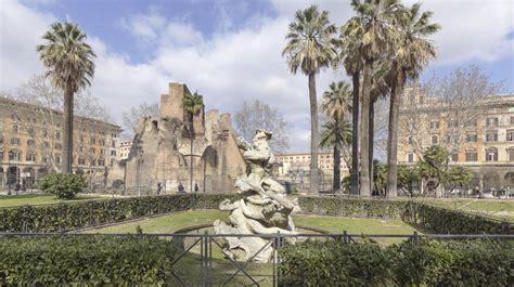 giardini piazza vittorio roma cidoglio bando per riqualificazione giardini