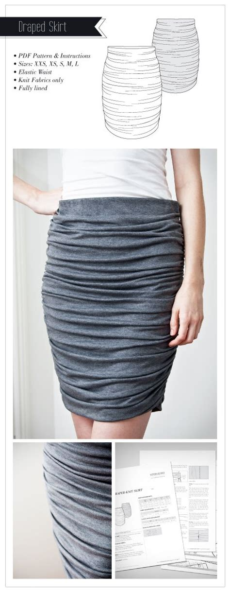 draped skirt pattern women s draped skirt pattern sewing patterns runway and