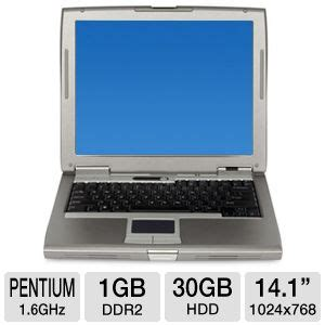 Laptop Dell Latitude D510 buy the dell latitude d510 pentium m 30gb notebook at