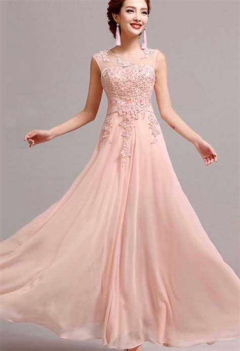 Floor Length Gowns by Bridal Style Fit And Flare Floor Length Dress