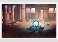 Ancient Portal Painting 4K HD Desktop Wallpaper for 4K ... Ipad Wallpaper 768x1024