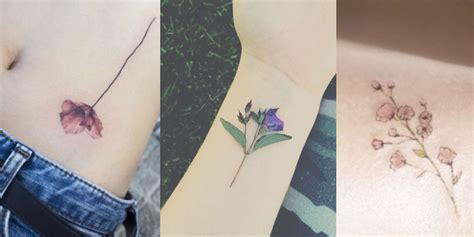 delicate flower tattoo designs 14 delicate flower tattoos flower ideas inspiration