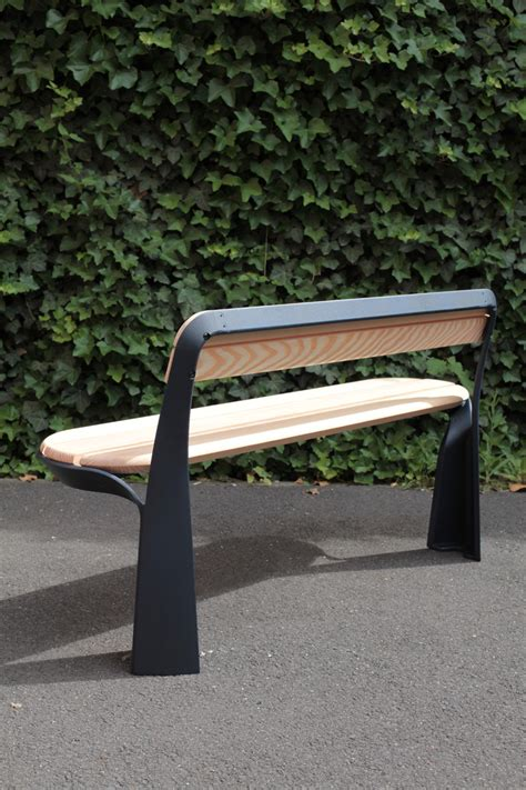 street benches design poa street furniture by studio brichetziegler