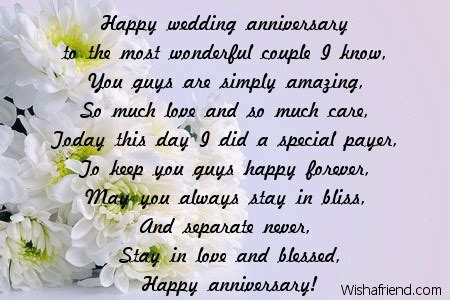 Wedding Anniversary Poems For Parents by Anniversary Poems For Parents