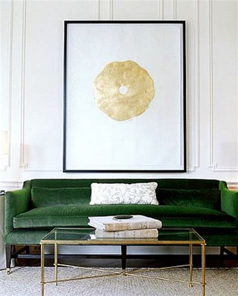 black and green sofa 23 interiors decorated with brass elements messagenote
