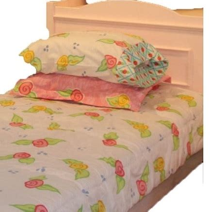 bunk bed huggers twin size quot amanda quot white floral bunk bed hugger