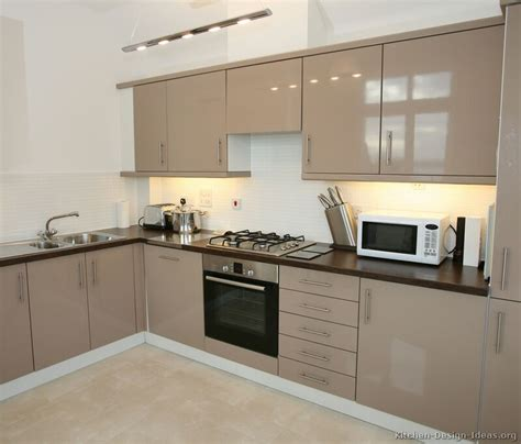 Kitchen Cabinet Modern Pictures Of Kitchens Modern Beige Kitchen Cabinets Kitchen 1