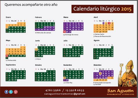 Calendario Catolico 2018 El Calendario Liturgico Catolico Related Keywords El