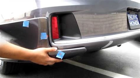 how to install hfp lip kit diy 2013 2014 2015 honda accord coupe sedan hfp lip kit