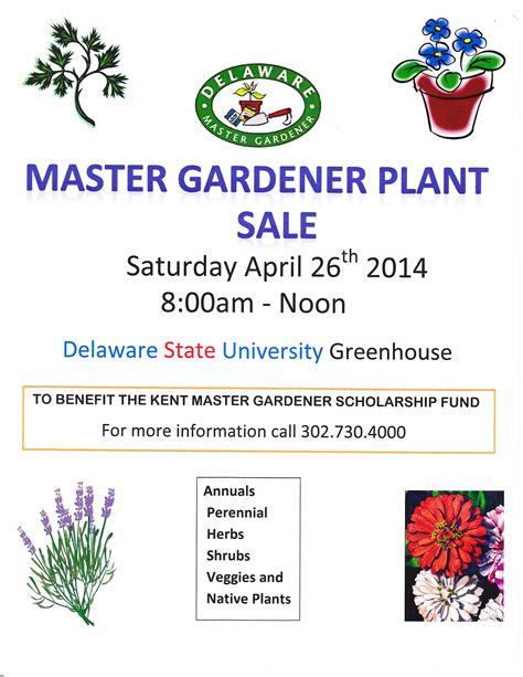 kent county master gardener plant sale cooperative extension