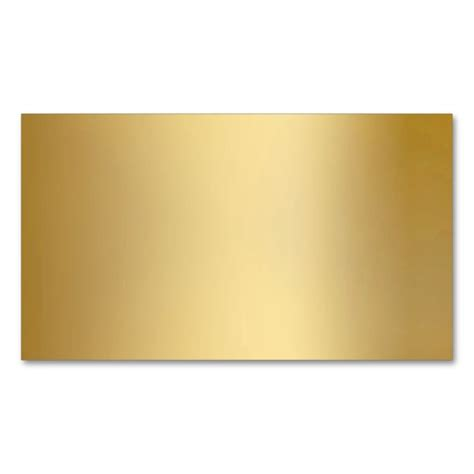 Cards Template Looking by Gold Metallic Look Business Cards Business Cards