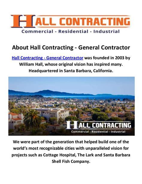 general contractor santa contracting general contractors in santa barbara