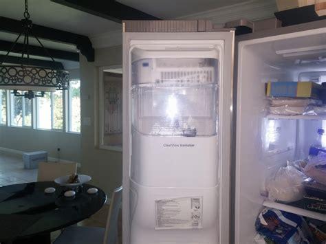Samsung Refrigerator Door Removal samsung maker repair refrigerator side door sdacc