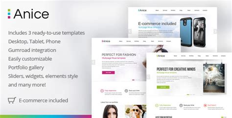 20 Best Ecommerce Adobe Muse Templates Designssave Com Adobe Muse Ecommerce Templates Free