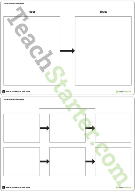 social story templates social stories pictures and templates teaching resource