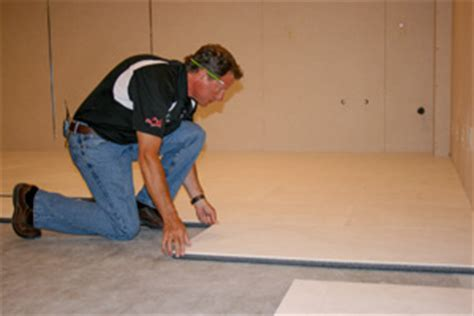 thermaldry basement flooring system basement systems