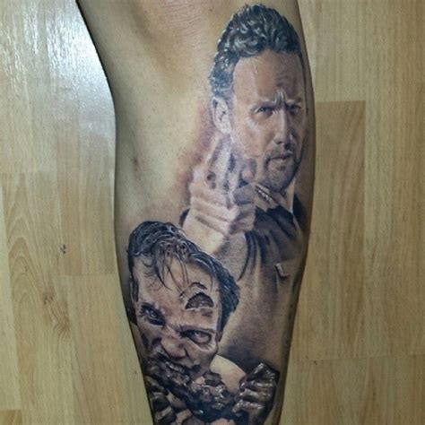 the walking dead tattoo rick from the walking dead tattoos tattoos walkingdead