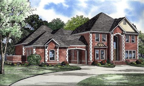 house plans with portico garage house plan 61205 at familyhomeplans com