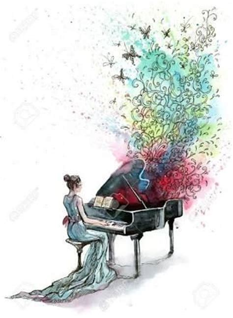 drawing and painting free 25 best ideas about piano on musica