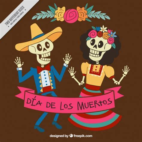 Imagenes De Calaveras Que Bailan | esqueletos bailando para celebrar el d 237 a de los muertos