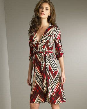 Who Wore Diane Furstenberg Better Or D Woods by Diane Furstenberg Printed Wrap Dress Who