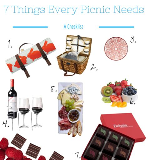 Checklist Of Things You Need For A Picnic by What To Pack For A Picnic The Ultimate Guide