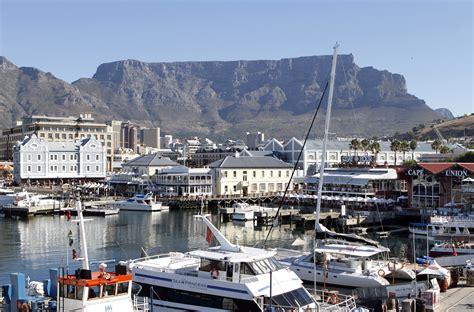 bootje waterfront zuid afrika kaapstad cape town omgeving haven victoria en
