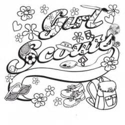 scouts coloring pages coloring