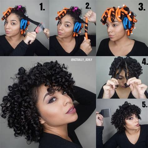 curly hairstyles yt flexi rods on natural hair flexi rods natural and hair