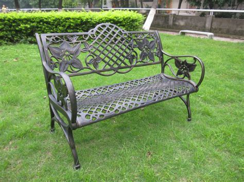 heavy duty garden benches heavy duty all weather rust free cast iron outdoor garden