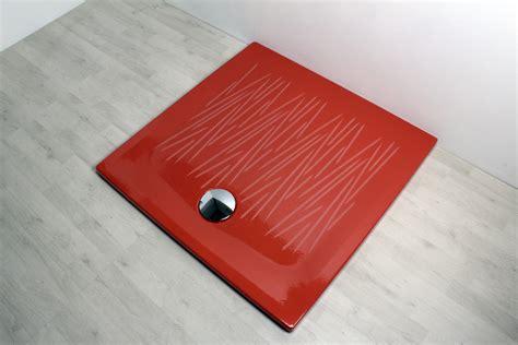 piatto doccia 90 x 90 piatto doccia filo 90x90 rosso
