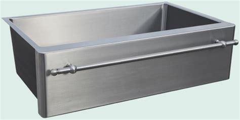 stainless steel apron sink with towel bar 25 best kitchen sinks images on apron apron