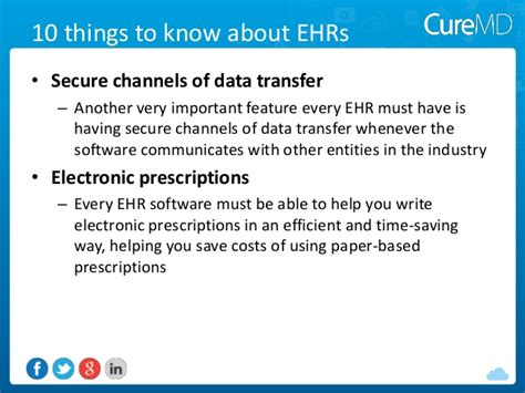 another 10 things any cuber should be able 10 things every ehr buyer must about