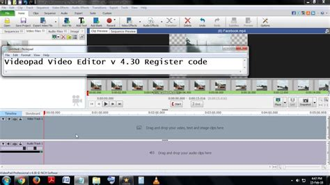 tutorial videopad video editor professional videopad video editor v 3 14 registration code crack code