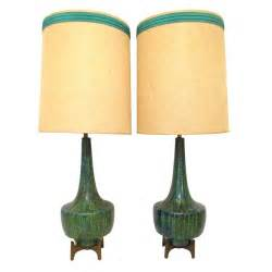 pair of mid century modern table lamps ca 1960s at 1stdibs
