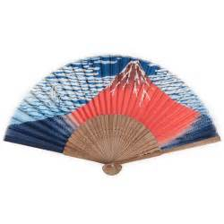 japanese folding fan mount fuji japanese folding fan