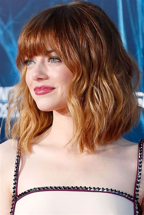 style a wavy lob the new lob the traditional long bob gets a makeover