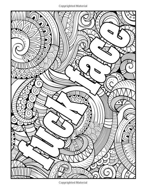 coloring pages for adults curse words 17 best images about coloring pages crafts on