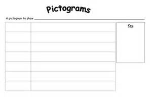 pictograph template blank pictogram with key by rachyben uk teaching
