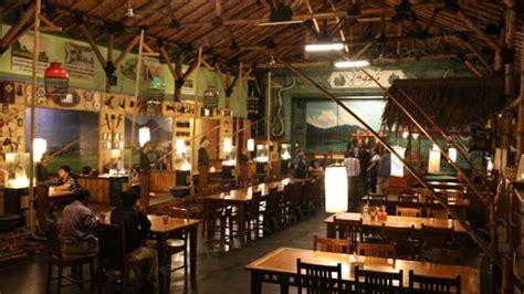 layout rumah makan lesehan rumah makan inggil