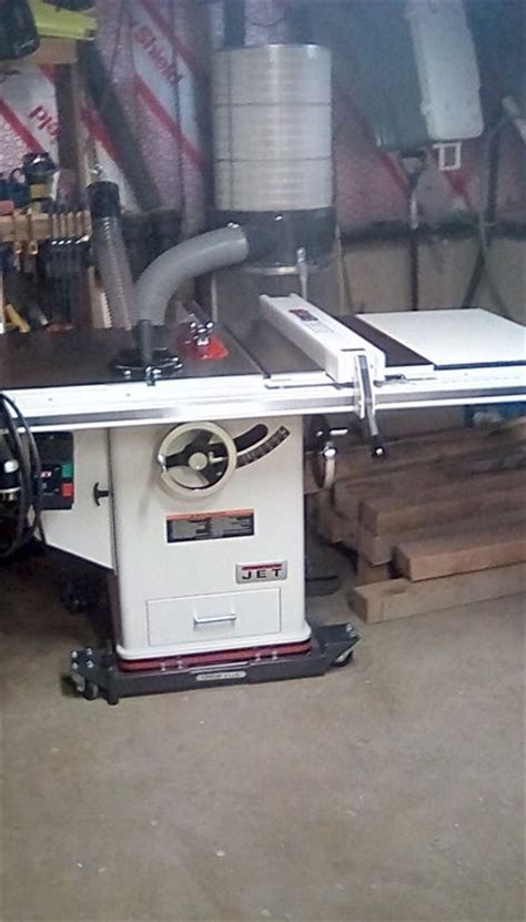 jet cabinet saw review review jet cabinet saw 3no 30 quot rip by clk51212