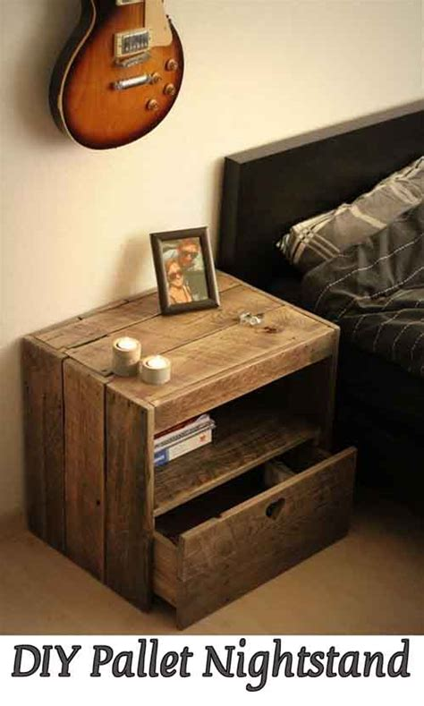 how should a nightstand l be diy pallet nightstand lil moo creations