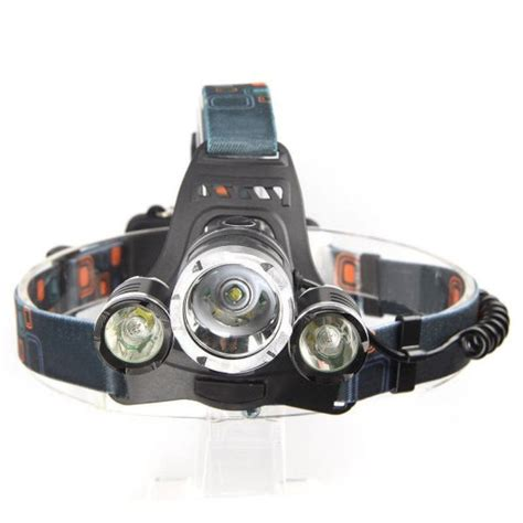 High Power Headl Led Cree high power 6000lm 3x cree t6 led headl rechargeable led torch 4mode batteries charger in