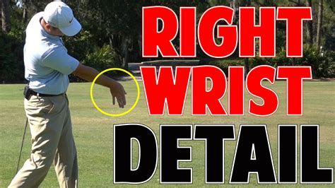 how to get more swing speed in golf more golf swing speed right wrist in crazy detail