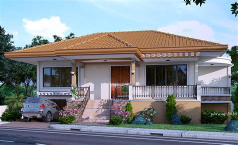 one house designs one storey house design with basement garage house