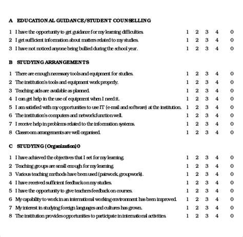 rwa survey questionnaire editable sample 1 planningtank