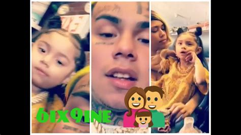 6ix9ine daughter 6ix9ine spending time with his daughter and baby momma